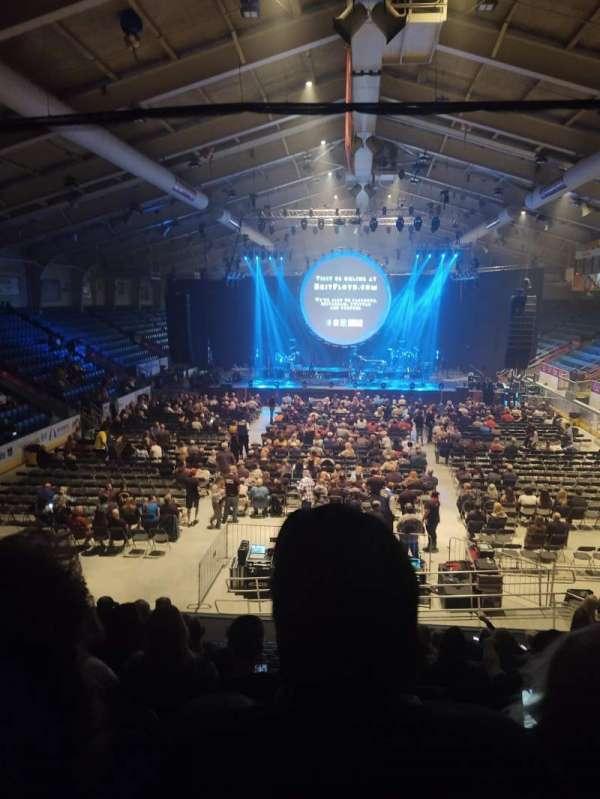 1st Summit Arena, Bereich: 20, Reihe: N, Platz: 14