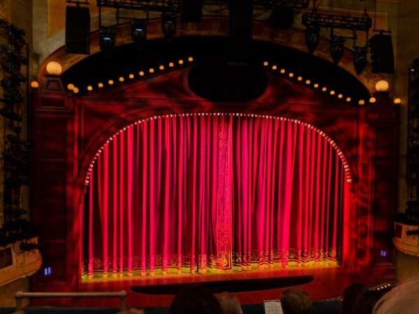 Shubert Theatre, Bereich: Mezzanine C, Reihe: D, Platz: 114