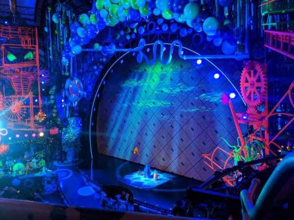 Palace Theatre (Broadway), Abschnitt: Right Mezz, Reihe: AA, Platz: 20
