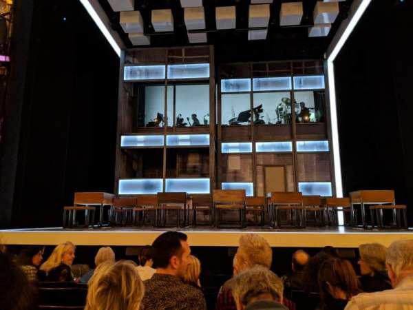 Apollo Theatre, Bereich: STALLS, Reihe: H, Platz: 11