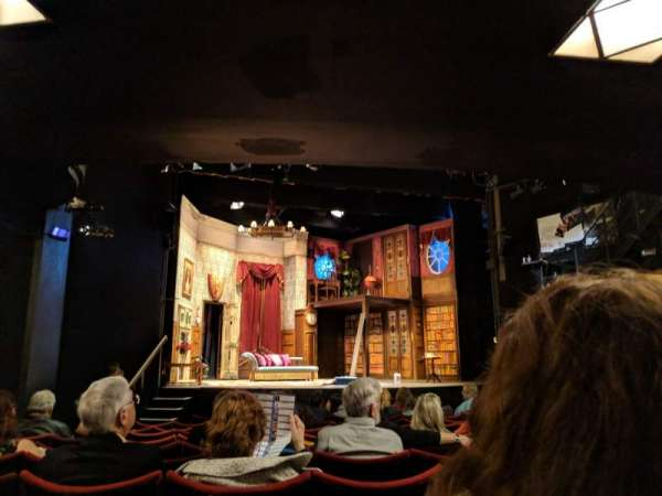 Duchess Theatre, Bereich: Stalls, Reihe: M, Platz: 21
