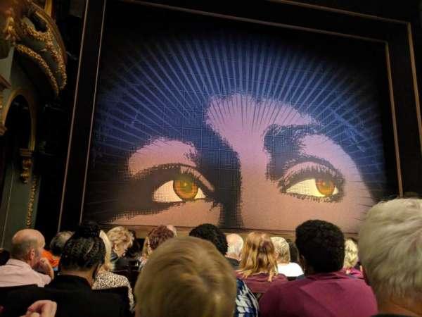 Aldwych Theatre, Bereich: Stalls, Reihe: G, Platz: 20