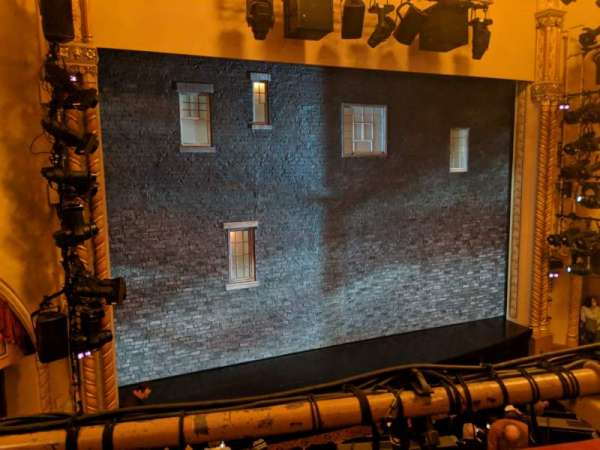John Golden Theatre, Bereich: Front Mezzanine L, Reihe: A, Platz: 119