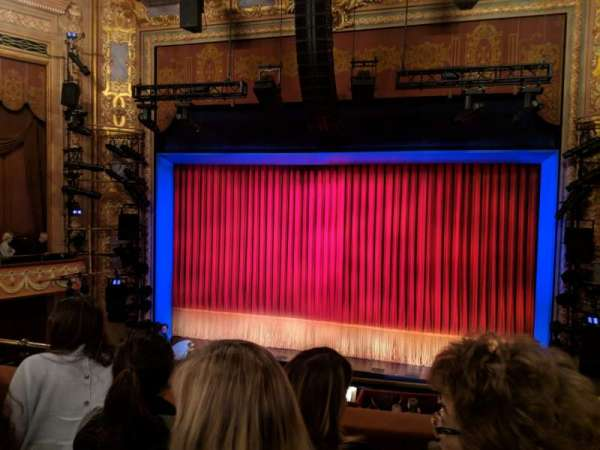 Longacre Theatre, Bereich: Mezzanine C, Reihe: C, Platz: 101