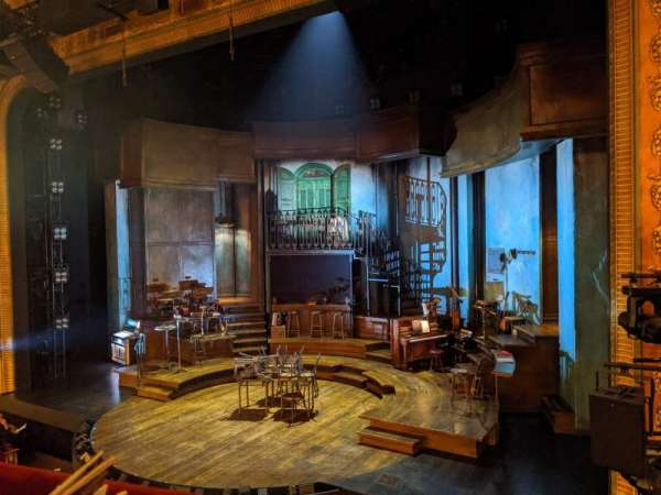 Walter Kerr Theatre, Bereich: Mezzanine R, Reihe: A, Platz: 10