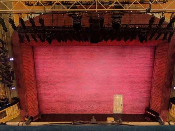 Shubert Theatre, Bereich: Balcony C, Reihe: A, Platz: 108