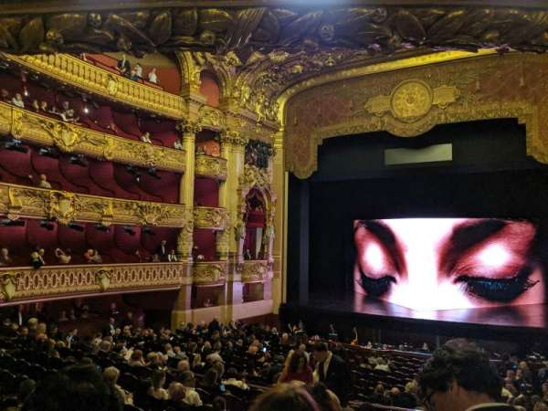 Palais Garnier, Bereich: 32-36, Reihe: 3, Platz: 20