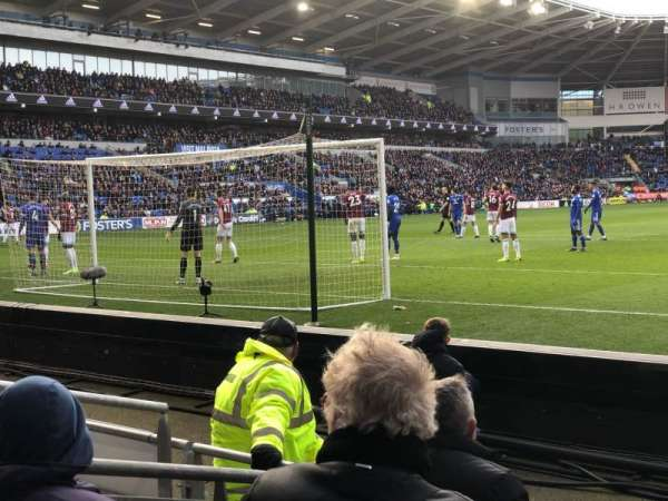Cardiff City Stadium, Abschnitt: 123, Reihe: D, Platz: 159