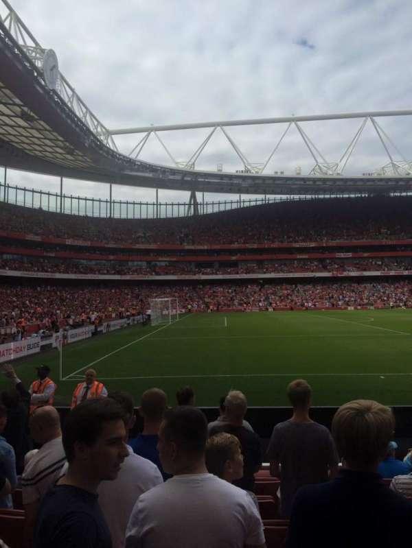 Emirates Stadium, Abschnitt: 20, Reihe: 8, Platz: 602