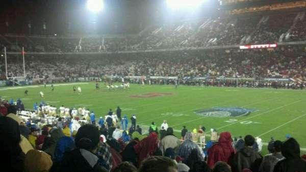 Stanford Stadium, Abschnitt: 130, Reihe: S, Platz: 2