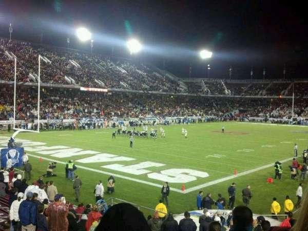 Stanford Stadium, Abschnitt: 120, Reihe: R, Platz: 9