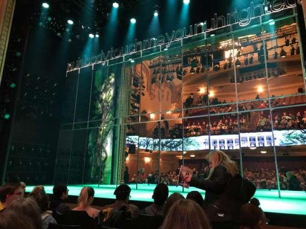John Golden Theatre, Bereich: Orchestra C, Reihe: E, Platz: 104
