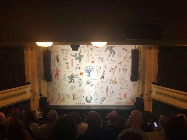 Hudson Theatre, Bereich: Dress Circle C, Reihe: G, Platz: 109