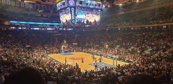 Madison Square Garden, Abschnitt: 110, Reihe: 18, Platz: 19