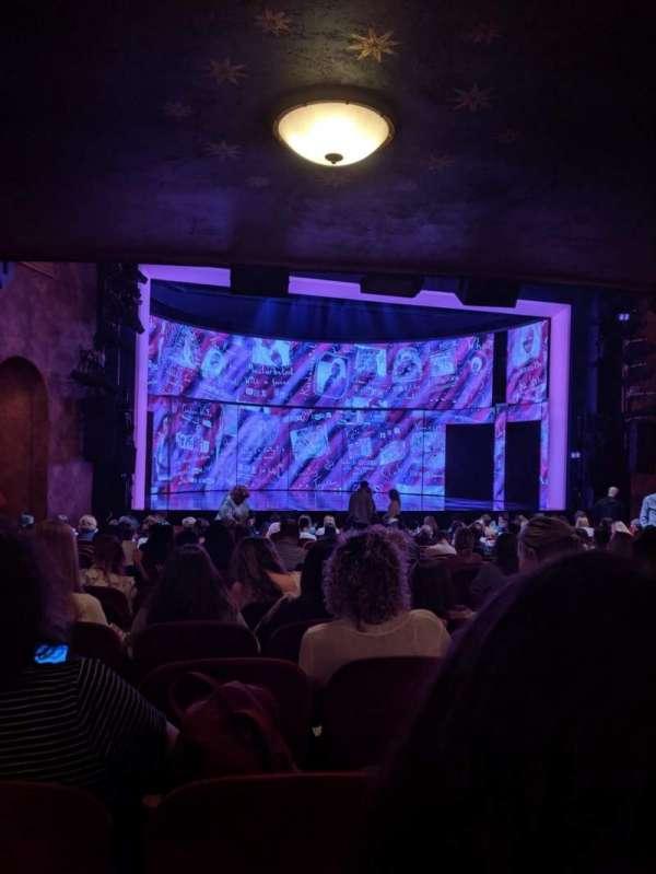 August Wilson Theatre, Abschnitt: Orchestra, Reihe: T, Platz: K