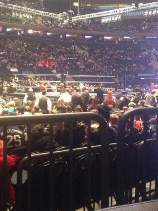 Madison Square Garden, Abschnitt: 106, Reihe: 2, Platz: 1