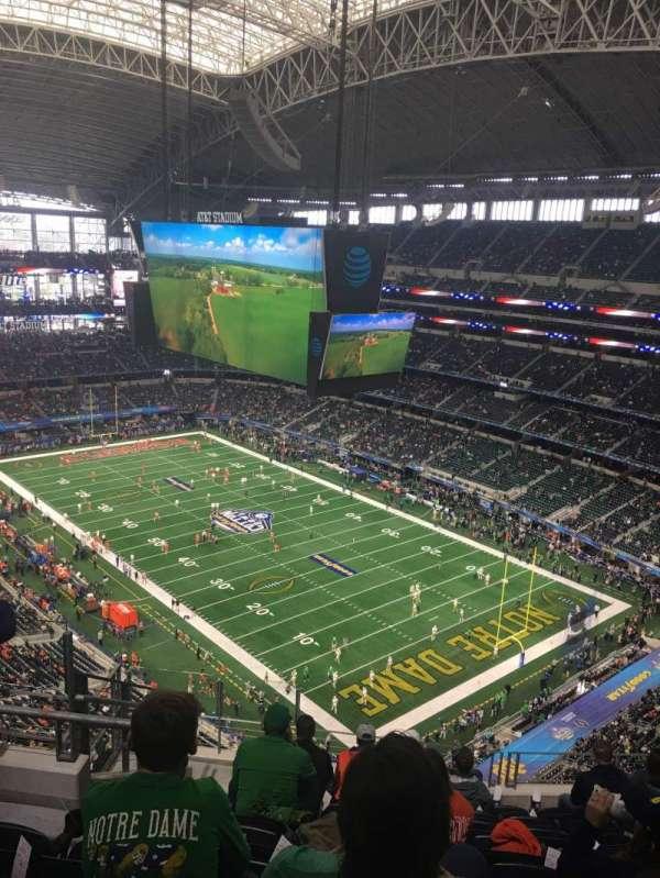 AT&T Stadium, Abschnitt: 404, Reihe: 17, Platz: 15