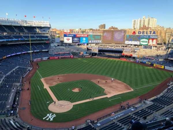 Yankee Stadium, Abschnitt: 419, Reihe: 1, Platz: 10