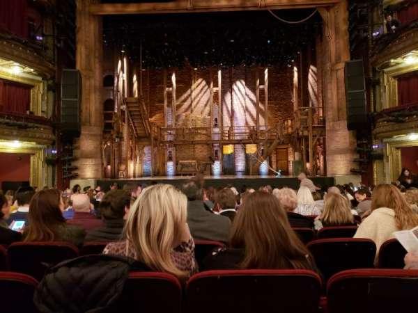CIBC Theatre, Abschnitt: Orchestra Center, Reihe: R, Platz: 108-9