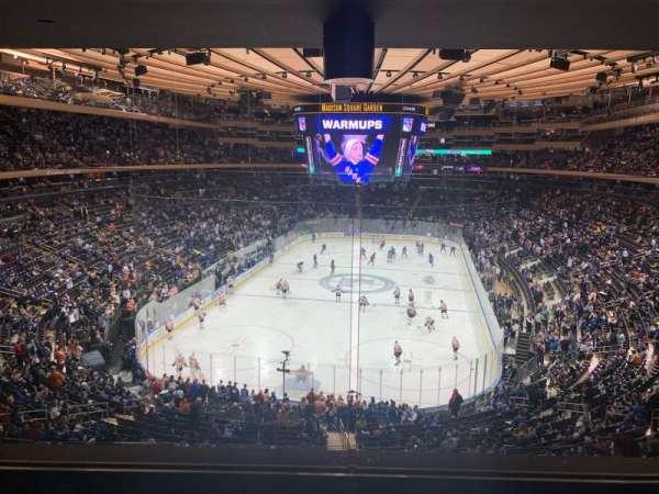 Madison Square Garden, Abschnitt: 218, Reihe: 4, Platz: 5