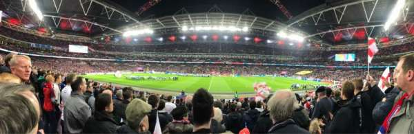 Wembley Stadium, Abschnitt: 122, Reihe: 20, Platz: 317