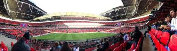 Wembley Stadium, Abschnitt: 124, Reihe: 34, Platz: 32