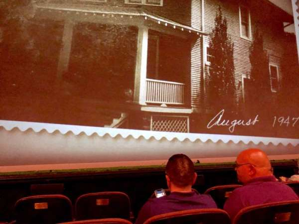 American Airlines Theatre, Bereich: Orchestra C, Reihe: C, Platz: 110