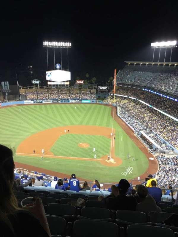 Dodger Stadium, Abschnitt: 11TD, Reihe: O, Platz: 6