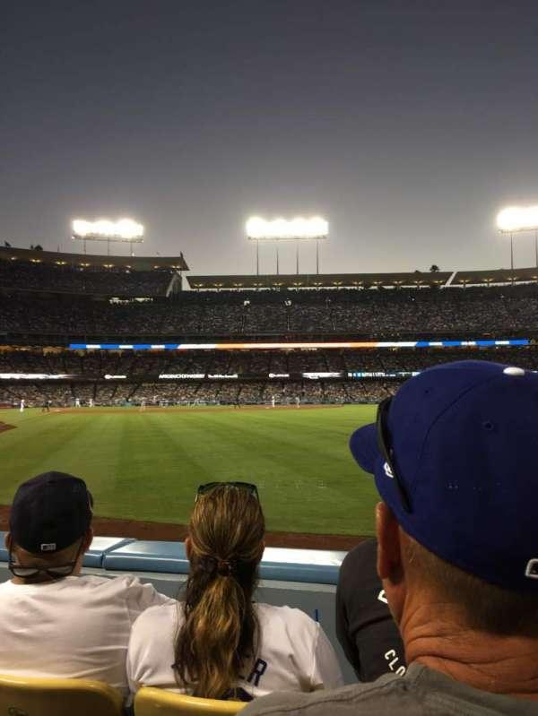 Dodger Stadium, Abschnitt: 52fd, Reihe: B, Platz: 3