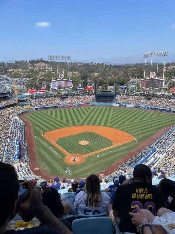 Dodger Stadium, Bereich: 4TD, Reihe: O, Platz: 8