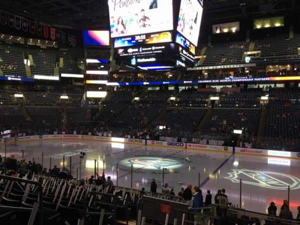 Nationwide Arena, Abschnitt: 113, Reihe: U, Platz: 16