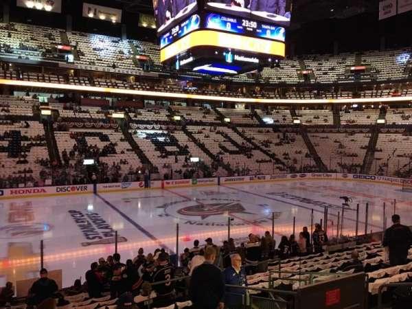 Nationwide Arena, Abschnitt: 116, Reihe: R, Platz: 8