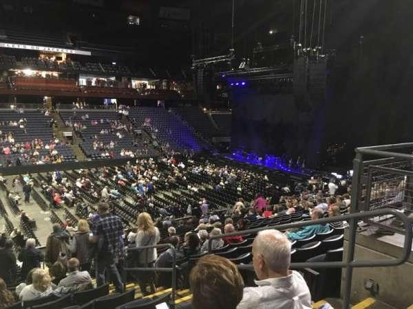 Nationwide Arena, Abschnitt: 105, Reihe: Y, Platz: 3