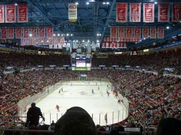 Joe Louis Arena, Abschnitt: 228, Reihe: 8, Platz: 7