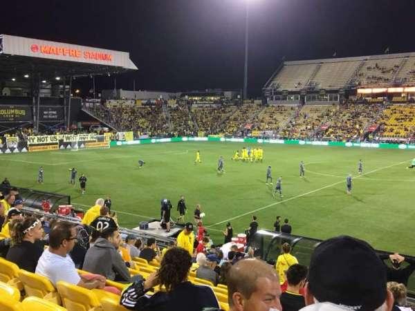 Mapfre Stadium, Abschnitt: 126, Reihe: 22, Platz: 1