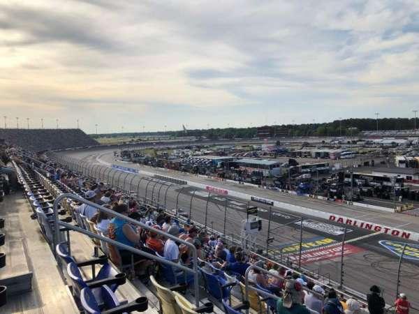 Darlington Raceway, Bereich: Tj, Reihe: 15, Platz: 16