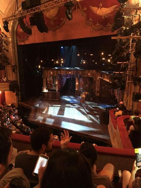 Bernard B. Jacobs Theatre, Abschnitt: Mezzanine Right, Reihe: C, Platz: 28