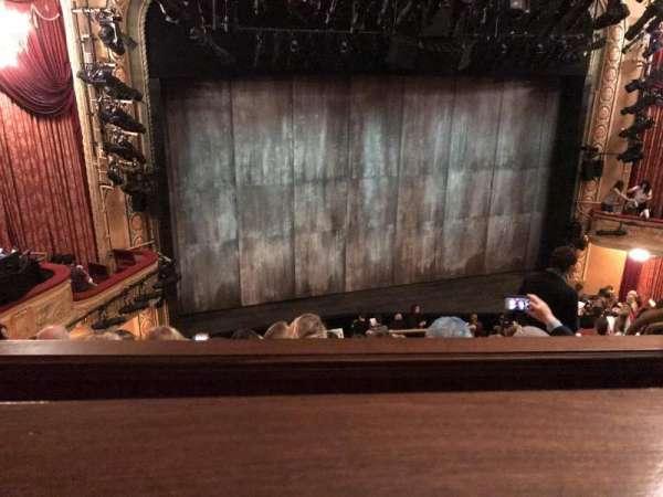 Bernard B. Jacobs Theatre, Abschnitt: Mezzanine, Reihe: E, Platz: 9