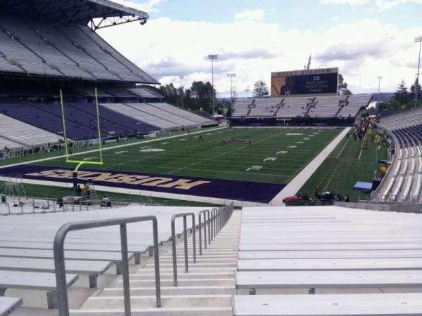 Husky Stadium, Abschnitt: 115, Reihe: 35, Platz: 25