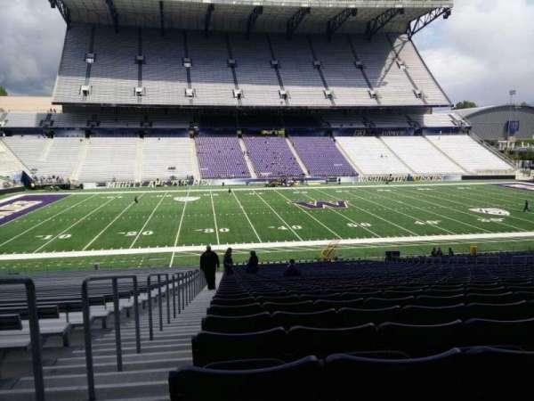 Husky Stadium, Abschnitt: 107, Reihe: 40, Platz: 25