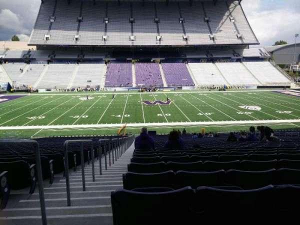 Husky Stadium, Abschnitt: 106, Reihe: 40, Platz: 25