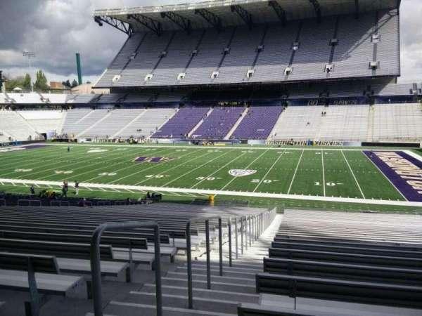 Husky Stadium, Abschnitt: 103, Reihe: 40, Platz: 25