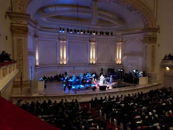 Carnegie Hall, Abschnitt: Box 47, Reihe: 1, Platz: 3