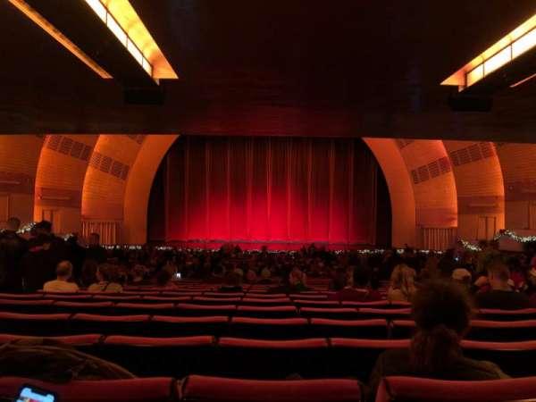 Radio City Music Hall, Abschnitt: Orchestra 4, Reihe: W, Platz: 408