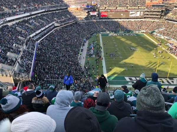Lincoln Financial Field, Abschnitt: 209, Reihe: 15, Platz: 4