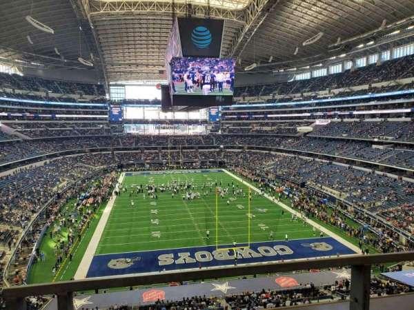 AT&T Stadium, Abschnitt: 349, Reihe: 1, Platz: 4-5