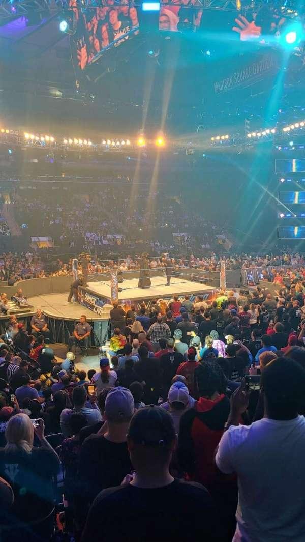 Madison Square Garden, Abschnitt: 106, Reihe: 7, Platz: 8