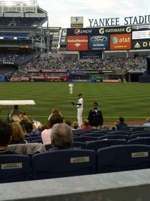 Yankee Stadium, Abschnitt: 113, Reihe: 12, Platz: 10