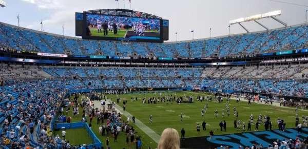 Bank of America Stadium, Abschnitt: 233, Reihe: 4, Platz: 7