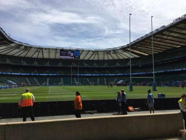 Twickenham Stadium, Abschnitt: L16, Reihe: 5, Platz: 175